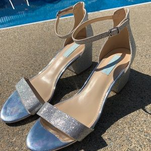 Blue by Betsey Johnson heels
